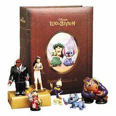 Disney's Lilo & Stitch Storybook Christmas Ornament Book Box Set