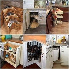 clever kitchen cabinets