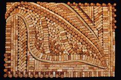 wine cork art projects - Google Search