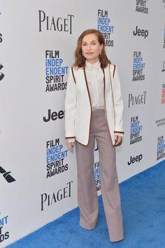 isabelle huppert. chloé. best female lead, spirit awards