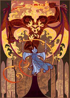 You cannot pass by Jian Guo (breathing2004 on DeviantArt)   Visit Jian's website for a ton of stuff in this vein …