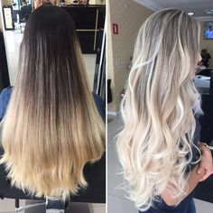Hair Color Trends In 2019 Before & After: Highlights On Hair + Tips;T… Hair Color Trends In 2019 Before & After: Highlights On Hair + Tips;Trendy Hairstyles And Colors Women Hair Colors; Brown Ombre Hair, Ombre Hair Color, Cool Hair Color, Hair Colors, Ombre Hair Brunette, Easy Hairstyles For Medium Hair, Curled Hairstyles, Trendy Hairstyles, Weave Hairstyles