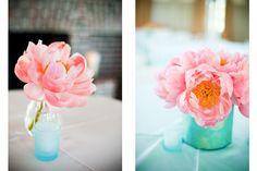 pink peonies #charleston #wedding