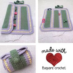 How to Crochet Mobile Cell Phone Pouch for iPhone Samsung - Baby Products Crochet Game, Love Crochet, Crochet Gifts, Crochet For Kids, Knit Crochet, Blanket Crochet, Yarn Projects, Crochet Projects, Crochet Ideas