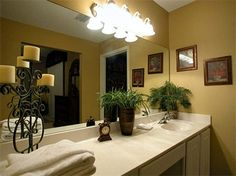 Spanish Key 101 Perdido Key Condo   I like the color in this bathroom might paint mine that color