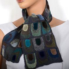"""Sophie Digard scarf """"doors"""""""