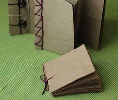 Block de notas de papel reciclado Para empezar mi cuaderno de bitácora para la aventura que me espera....