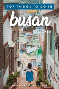 ALL the top things to do in Busan, from Gamcheon Culture Village to Jalgachi Fish Market and more! If you're headed to South Korea, don't miss all these fun things to do in Busan! Busan South Korea, South Korea Travel, Seoul Korea, Asia Travel, Sokcho, Stuff To Do, Things To Do, There She Goes, Jeju Island
