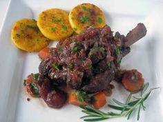 My Carolina Kitchen: Braised Lamb Shanks and the 17th century Château de Barbentane in Provence