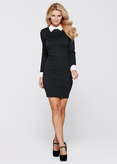 Klänning svart beställa online - bonprix.se Boutique 2781a8b399178