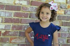 of July dress for girls -- Navy dress with red name -- Monogrammed dress -- red, white, blue - of July dress for girls — Navy dress with red name — Monogrammed dress — red, white, blue Source by etsy - Baby Girl Valentine Outfit, Valentines Outfits, Girls Navy Dress, Girls Dresses, Belted Shirt Dress, Dress Red, Bodycon Prom Dresses, 4th Of July Dresses, Green Long Sleeve Shirt