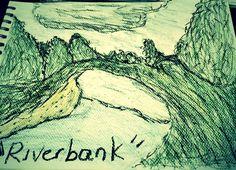 Riverbank by TanyaMills.deviantart.com on @DeviantArt