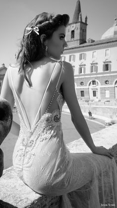 julie vino bridal spring 2017 sleeveless double straps sweetheart mermaid lace wedding dress (augusta) zbv pockets low back train