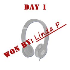 Congrats Linda P. for winning Day 1 of The 12 Days of QuiBids.
