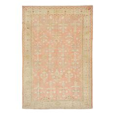 Antique Oushak Wool Rug @abccarpet