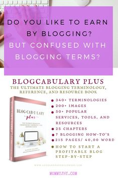 This is the only blogging reference book that all bloggers need! This book is inexpensive and jam-packed with all details needed to start a profitable blog. #workfromhomejobs #digitalnomad