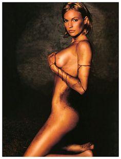 "The women of Star Trek TV Series: Enterprise. Actres: Jolene Blalock who played "" T'Pol""."