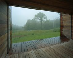 Family House located in the middle of a forest in Vermont by KSW Architects