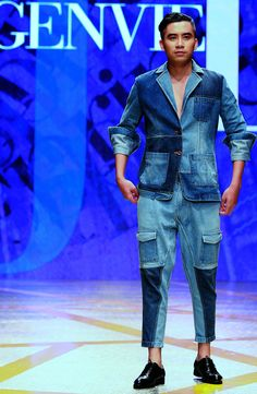 Vietnam Fashion Week SS16 - Ready to wear. Designer: Genviet Jeans. Photo: Cao Duy