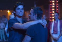 "'The Normal Heart'  Matt Bomer and Mark Ruffalo in HBO's ""The Normal Heart.""  http://www.latimes.com/entertainment/envelope/tv/la-et-st-en-matt-bomer-normal-heart-20140612-story.html#page=1&lightbox=80477369"