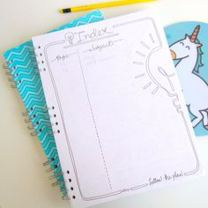 How to Set Up Your Bullet Journal – Partymazing