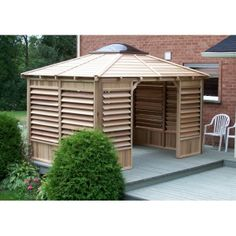 1000 images about gazebo kits and hot tub shelters on for Hot tub shelters