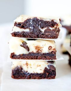 White and Dark Chocolate Cream Cheese Chocolate Cake Bars