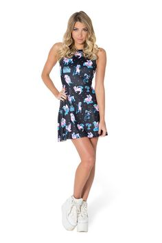 Radimals Black Play Dress (48HR) › Black Milk Clothing
