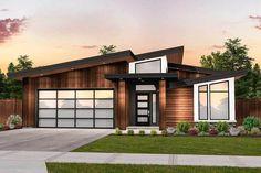 Crisp Modern House Plan - 85199MS | Architectural Designs - House Plans