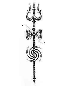 Image result for shiva trishul tattoo designs