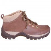 Camel Active Vancouver casual lace-up boots in hazel