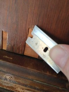 How to Repair Damaged or Missing Veneer. Excellent how-to!