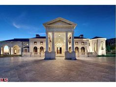 172 BLISS CANYON ROAD BRADBURY CA 91008!Palladian Masterpiece in guard-gated Bradbury Estates, ranked by Forbes as most expensive ZIP code. Set on a promontory w/ unparalleled city & ocean views. Magnificently realized after more than 8 years of construction by consummate craftsmen with meticulous attention to detail, using the finest materials from around the world.