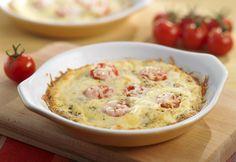"""""""Mini frittatas""""... verdict d'après repas : bof... à ne pas renouveler ! Plus sympa une omelette avec tomates et poivrons revenus à la poêle posés sur l'omelette."""