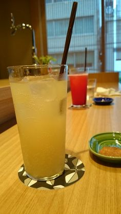 Ginger ale at Mikado.