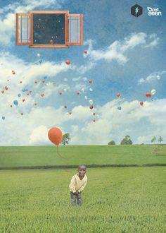 Free balloons - Artwork - Photomanipulation - Massimo La Sorsa