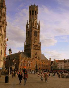 Climbed this in 2008! Bruges, Belgium
