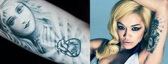 Rita Ora's Aphrodite Tattoo (Love Goddess)