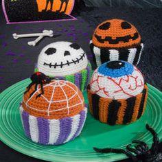 Scary Muffins - free crochet pattern