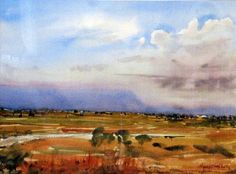 Cressy, looking to Arthur's Lake b by Harry Kent, via Flickr
