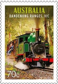 Visitors flocking to some of Australia's most beautiful destinations can board a range of transport vehicles for sightseeing tours. Victoria Series, Postage Stamp Collection, Australia Travel, Tampons, Train Travel, Mail Art, Stamp Collecting, Travel Posters, Stamps