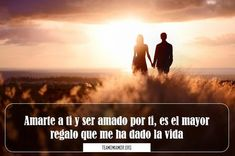 imágenes de amor con frases lindas Marriage, Romance, Messages, Love, Quotes, Movie Posters, Love Of My Life, Best Images Of Love, Valentines Day Weddings