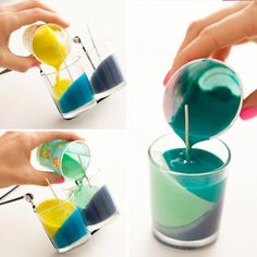 Make Your Own DIY Pouring Candles