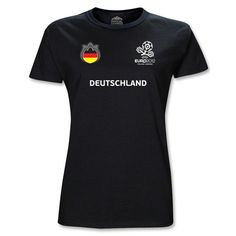 Germany UEFA Euro 2012 Core Nations Junior Women's T-Shirt