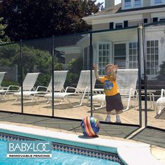 36 Best Loop Loc Baby Loc Ideas Removable Pool Fence Pool Fence Keeping Kids Safe
