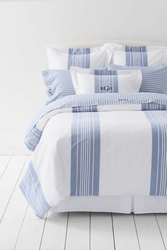 Yarn Dye Oxford Duvet Cover or Sham from Lands' End