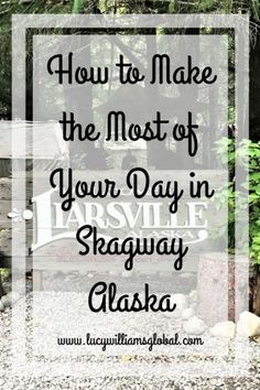Most people get to Skagway on a cruise and are there for one day, so how do you make the most of the day in Skagway, Alaska? The best way is to go on a tour Usa Travel Guide, Travel Advice, Travel Usa, Travel Tips, Travel Ideas, Travel Hacks, Travel Stuff, Travel Destinations, Alaska Travel