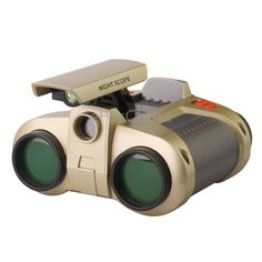 ($18.99) 1) Magnification: 4X  2) Exit pupil diameter: 30mm  3) Material: ABS and glass  4) Night working  5) Size: 12311060mm  6) Battery: 2 x AAA batteries (not included)