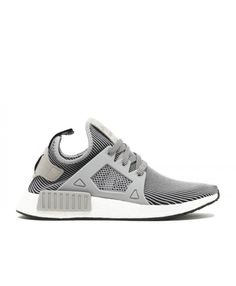 new product 9bed7 7ff37 Chaussure Adidas NMD XR1 PK Primeknit Granit Léger Gris Vintage Blanche  S32218