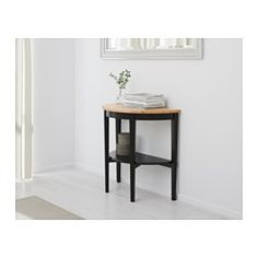 IKEA - ARKELSTORP, Console table, , Solid wood is a durable natural material.Separate shelf for magazines, etc. helps you keep your things organized and the table top clear.